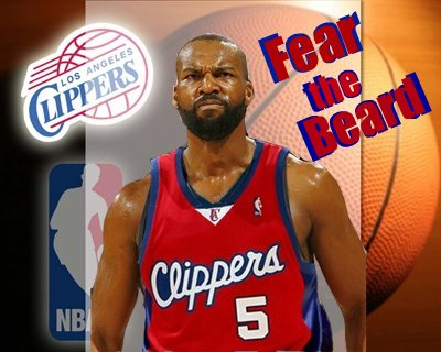baron davis clippers beard. Baron Davis is sellin#39; his