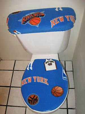 Knicks Toilet Seat cover